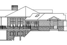 Dream House Plan - Ranch Exterior - Other Elevation Plan #124-728