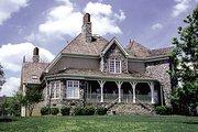 European Style House Plan - 3 Beds 3.5 Baths 3261 Sq/Ft Plan #453-36 Exterior - Rear Elevation