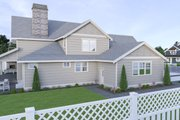 Craftsman Style House Plan - 4 Beds 3 Baths 2935 Sq/Ft Plan #1070-101