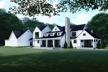 Architectural House Design - Farmhouse Exterior - Rear Elevation Plan #923-117