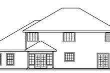 Farmhouse Exterior - Rear Elevation Plan #124-529