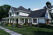 Farmhouse Style House Plan - 3 Beds 2.5 Baths 2214 Sq/Ft Plan #120-261 Exterior - Front Elevation