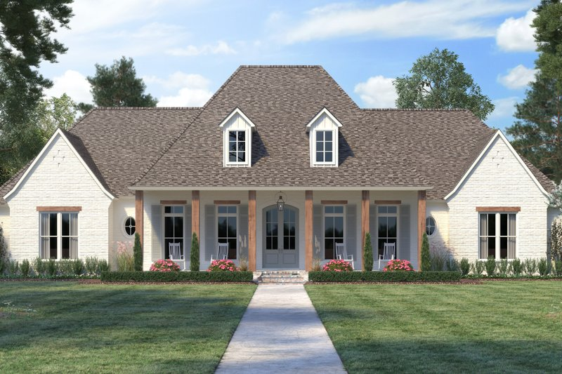 Architectural House Design - Southern Exterior - Front Elevation Plan #1074-17