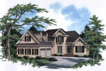 Home Plan Design - European Exterior - Front Elevation Plan #41-152