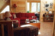 Cabin Style House Plan - 2 Beds 2 Baths 1154 Sq/Ft Plan #118-102 Photo