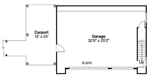 Country Floor Plan - Main Floor Plan Plan #124-897