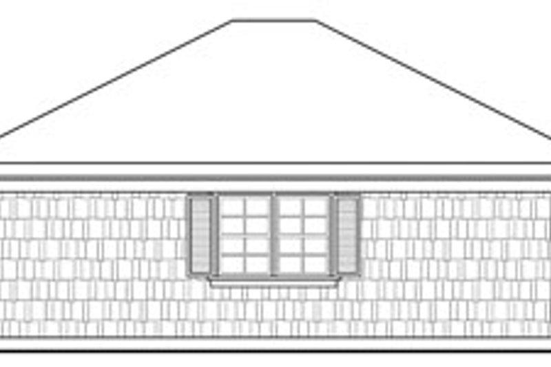 Craftsman Exterior - Other Elevation Plan #124-634 - Houseplans.com