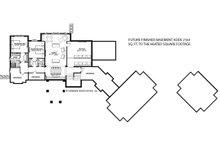 Traditional Floor Plan - Lower Floor Plan Plan #928-329