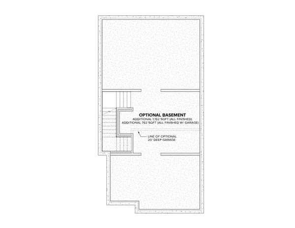 Modern Floor Plan - Other Floor Plan Plan #1076-3