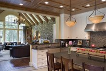 Dream House Plan - Kitchen - 5200 square foot Craftsman Home