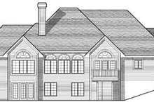 Dream House Plan - European Exterior - Rear Elevation Plan #70-796