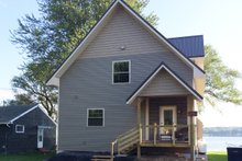 House Plan Design - Contemporary Exterior - Front Elevation Plan #117-870