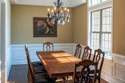 European Style House Plan - 3 Beds 3 Baths 1715 Sq/Ft Plan #929-957 Interior - Dining Room
