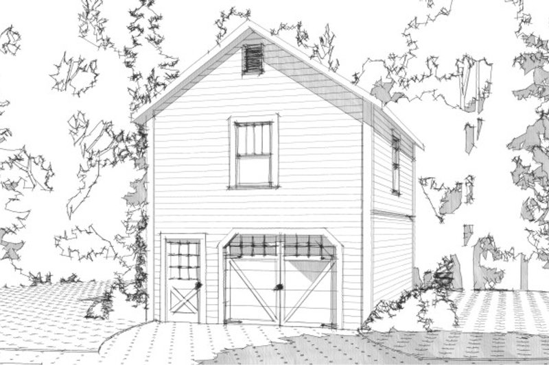 Traditional Exterior - Front Elevation Plan #63-338