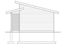 Contemporary Exterior - Rear Elevation Plan #23-2668