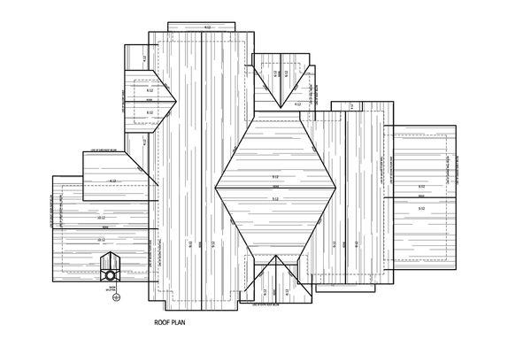 Craftsman Floor Plan - Other Floor Plan #899-1