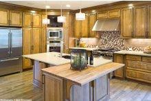 House Plan Design - Craftsman Interior - Kitchen Plan #48-615
