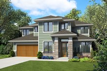 House Plan Design - Modern Exterior - Front Elevation Plan #48-939