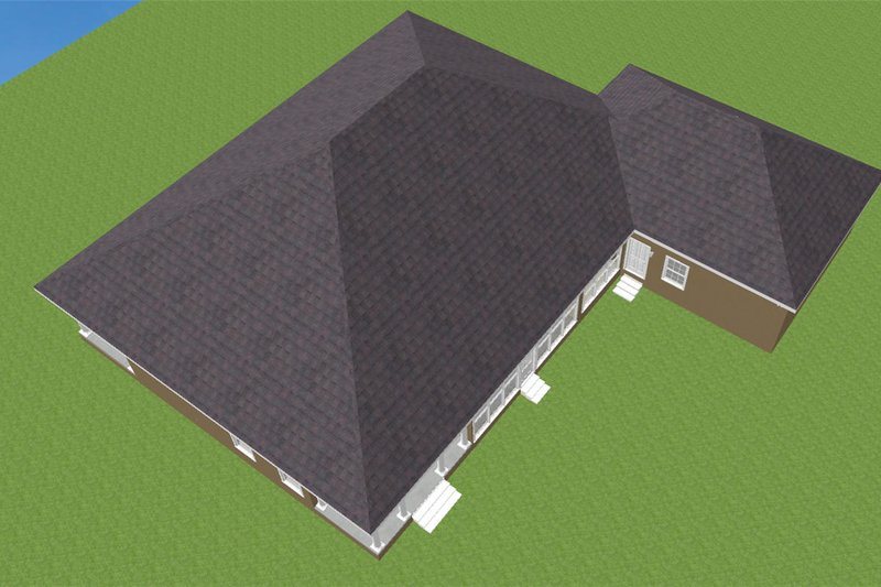 Southern Exterior - Other Elevation Plan #44-127 - Houseplans.com