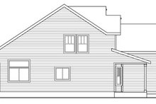 Home Plan - Craftsman Exterior - Other Elevation Plan #124-820