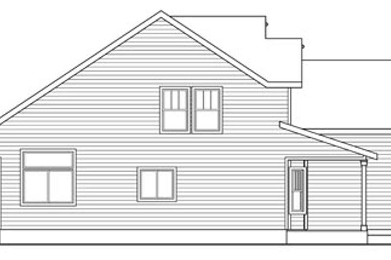 Craftsman Exterior - Other Elevation Plan #124-820 - Houseplans.com