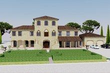Home Plan - European Exterior - Front Elevation Plan #542-9