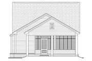 Cottage Style House Plan - 3 Beds 2 Baths 1300 Sq/Ft Plan #430-40 Exterior - Rear Elevation