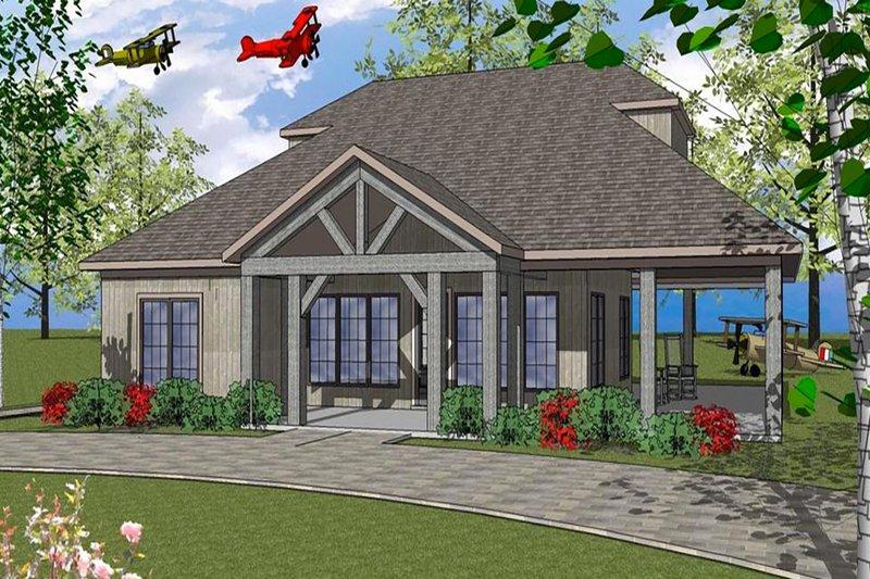 Southern Style House Plan - 2 Beds 2 Baths 2836 Sq/Ft Plan #8-298
