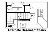 Cabin Style House Plan - 2 Beds 2 Baths 1211 Sq/Ft Plan #124-510 Floor Plan - Other Floor Plan