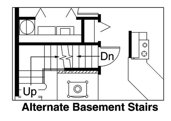 Dream House Plan - Cabin Floor Plan - Other Floor Plan #124-510