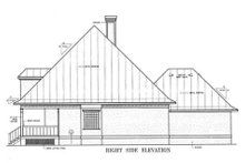 Architectural House Design - Country Exterior - Other Elevation Plan #45-132
