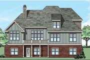 Traditional Style House Plan - 4 Beds 3 Baths 2855 Sq/Ft Plan #927-26 Exterior - Rear Elevation