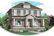 Colonial Style House Plan - 3 Beds 3 Baths 3218 Sq/Ft Plan #81-434 Exterior - Front Elevation