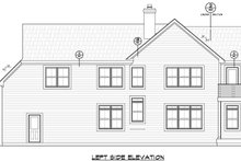 Contemporary Exterior - Other Elevation Plan #20-2205