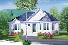 Home Plan - Cottage Exterior - Front Elevation Plan #23-1027