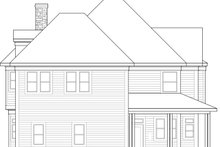 Dream House Plan - Victorian Exterior - Rear Elevation Plan #410-3612