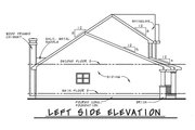 Craftsman Style House Plan - 3 Beds 2.5 Baths 1699 Sq/Ft Plan #20-1220 Exterior - Other Elevation
