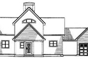 Traditional Style House Plan - 2 Beds 2 Baths 1408 Sq/Ft Plan #17-2276 Exterior - Rear Elevation