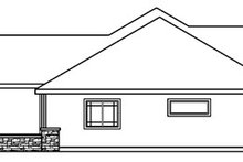 Dream House Plan - Ranch Exterior - Other Elevation Plan #124-396