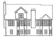 House Plan Design - Country Exterior - Rear Elevation Plan #927-16