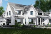 Farmhouse Style House Plan - 4 Beds 4.5 Baths 2886 Sq/Ft Plan #51-1132 Exterior - Front Elevation