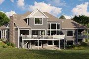 Craftsman Style House Plan - 5 Beds 3.5 Baths 3563 Sq/Ft Plan #1064-120