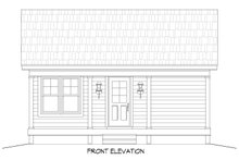 Traditional Exterior - Front Elevation Plan #932-101