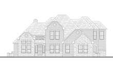 House Plan Design - Traditional Exterior - Front Elevation Plan #80-210