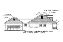 Southern Exterior - Other Elevation Plan #44-106