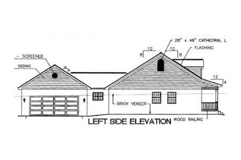 Southern Exterior - Other Elevation Plan #44-106 - Houseplans.com