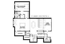 Country Floor Plan - Lower Floor Plan Plan #928-12