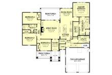 Craftsman Floor Plan - Main Floor Plan Plan #430-152