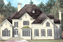European Exterior - Front Elevation Plan #119-110