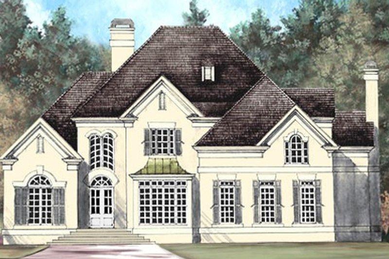 Dream House Plan - European Exterior - Front Elevation Plan #119-110